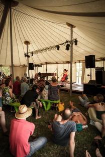 solo cello @ Himmelstorm Fest - ph: los dos